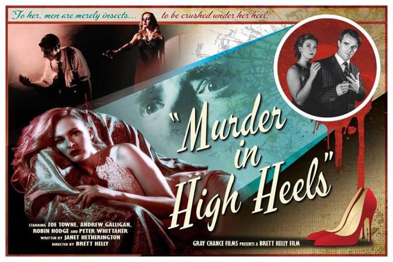 murder in high heels lobby